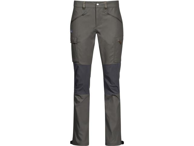 Bergans Nordmarka Hybrid Pantalones Mujer, verde/gris